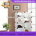muebles de exterior moderna plegable de almacenamiento de los zapatos del estante