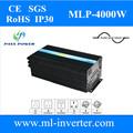 O uso da casa solar& sistema de vento 4000w pura onda senoidal conversor