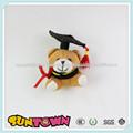 Venda quente mini graduação urso de peluche, mini pelúcia urso de brinquedo