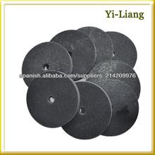 metal pulido superficie rueda de pulido de nylon.