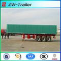 China 2014 caja de carga semi remolque para la venta, camión de carga semitraielr
