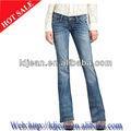 2014 jeans sexy dames top design jean bootcut jean( ldb11)