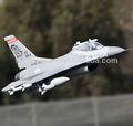 F-16 3d ação gigante escala rc avião brinquedos