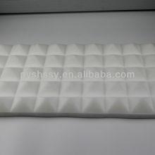 material de insonorización acústica de la espuma