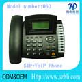 2015 calidad caliente teléfono sip traje para la oficina teléfonoip modelo 060 sip teléfono es compatible con el protocolo