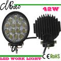 42w luces de trabajo de la mejor venta de accesorios para automóviles 12v led de luz de trabajo