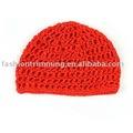 Rojo de invierno de lana de punto sombrero/de moda los sombreros y gorras ht048