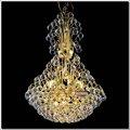 Nuevo Modelo Cristal lamparas de iluminación de oro del metal de la lámpara pendiente MD88067