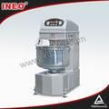 80l comercial de massa máquina de amasso/máquina amassadeira/misturador de massa horizontal