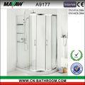 Venta caliente del modelo nuevo baño cabina de ducha A9177