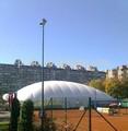 2014 caliente de la venta! Baratos inflables enorme cancha de tenis tienda de campaña para la venta