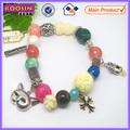 La nueva joyería vintage brazalete de perlas de encanto #31429