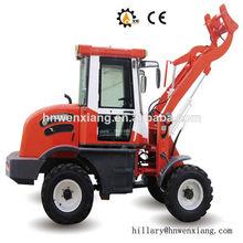 ton 1 front end loader para o trator e trator de jardim pá carregadeira com 29kw para venda