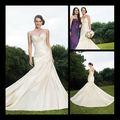2013 el precio de la sirena del satén del amor del vestido de boda de bajo del fabricante de porcelana R112