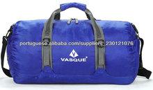 Roxo saco azul exercício verde impermeável poliéster esporte bolsa sacola dobrável