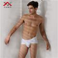 ropa interior de algodón blanco para los hombres de la venta caliente de los boxeadores de corto