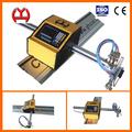 apoyo 10 idioma automático de chapa de hierro de plasma del cnc de corte de la máquina de mesa para la venta