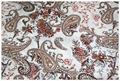 impressão de rayon tecido para o vestido