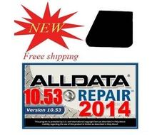 2014 Alldata 10.53 (574GB) Servicio profesional de taller y manual de reparación, mantenimiento, diagrama de cableado, Auto del