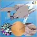 Resíduos de fibras de tecido máquina de corte para o corte de juta, cânhamo, coco, fibras de seda