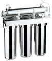 de aceroinoxidable purificador de agua con 3 etapas