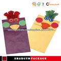 nuevo estilo de papel bolsa de regalo para niños