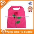 la promoción hermosa rosa bolsa de la compra