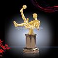 Viva el fútbol de metal/de fútbol trofeo premios