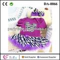 Modelos de vestido de minnie mouse applique camisa roxa botton zebra- stripe laço de tule diy saia meninas vestido da forma