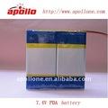 paquete para PDA, PC de la batería del león 7.4v de la tableta