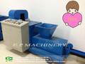 Máquina para hacer briquetas de madera para el combustible