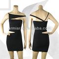 negro diseño especial vestido del vendaje para las señoras AM003