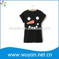 T- shirt 80% 20% de algodón poliéster/t- shirt señoras/de dibujos animados t- shirt