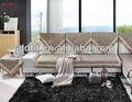 venta al por mayor de tela en forma de l sofá cubierta