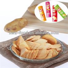 chips de patata tubo sabroso