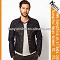 Venta al por mayor de los pantalones vaqueros de diseño de moda barata chaquetas, chaquetas de los hombres de mezclilla (hyj472)