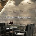 decoração da parede interior da parede de bambu de papel