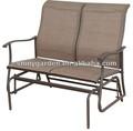 de metal al aire libre mecedora silla de honda