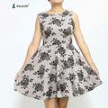 con estilo la patrón floral impresión sin mangas vestido de fiesta corto vestidos de las señoras vestidos de tirantes para