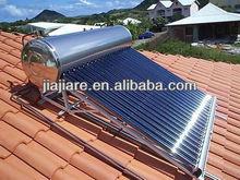 techo a dos aguas de acero inoxidable solar a presión calentador de agua caliente