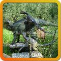 parque científico dinosaurios robot