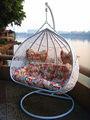 Siège de balançoire pour adultes de meubles de jardin en rotin