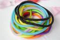 atacado tailândia telefone bandas 50cm longa espiral cabo faixas de cabelo