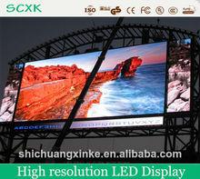 alta resolución llevó la pantalla de visualización costumbre,señal a todo color al aire libre llevada