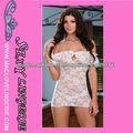 ML2066 mujeres atractivas del Apagado-hombro de encaje transparente ropa interior atractiva ropa interior de encaje transparente