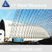 perno de acero galvanizado bola de acero del marco del espacio para techos de energía térmica de los edificios de almacenamiento