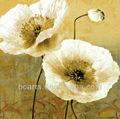 de alta calidad abstracto pintado a mano blanco de flores pintura al óleo para la decoración de la pared b