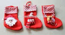 navidad de regalo de navidad stock kids'gift corto bebé calcetín calcetín de navidad niños calcetines de regalo de navidad