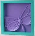 Decoración de la pared de montaje decorativos de la mariposa libélula bricolaje-& colorido de colocación