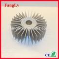led de aluminio de girasol disipador de calor
